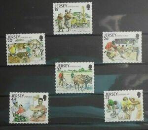 UK / JERSEY  -  Overseas Aid   MNH  singles    # 20341