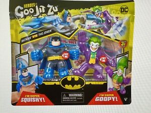 Heroes Of Goo Jit Zu 2 Pack Batman Vs The Joker - New in Package