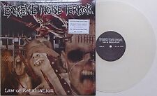 Extreme Noise Terror - Law Of Retaliation LP CLEAR VINYL 150 ONLY!! Napalm Death