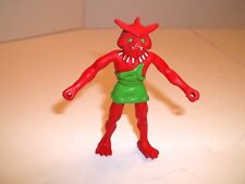 ARCO OTHER WORLD ZENDO KING MOGS RED MONSTER PLASTIC RUBBER FIGURE FIGURINE TOY