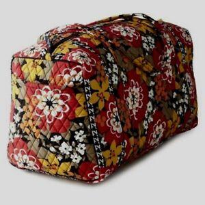 VERA BRADLEY~Iconic Large Travel Duffel Bag~BITTERSWEET~RARE~$85.00~NWT!