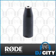Rode VXLR 3.5mm Mini-Jack to 3-Pin XLR Male Adaptor - Genuine RODE Accessory