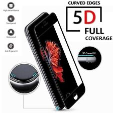 5D GORILLA For Apple iPhone 6S PLUS Full Coverage Tempered Glass Protector-BLACK