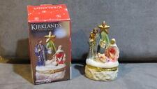 Beautiful Kirkland's Holy Family Trinket Box - New in Box