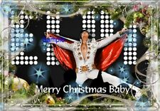 Elvis Christmas Cards  - 12 count