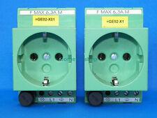 Phoenix Contact EMG 45-SD-D/LA/SI Socket DIN Rail Mountable 6.3A, 250V