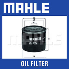 Mahle Oil Filter OC272 - Fits Alfa, Fiat, Vauxhall - Genuine Part