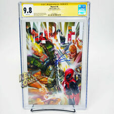 2021 Marvel #4 ALEX ROSS X-Force Variant - SIGNED BY ROB LIEFELD CGC SS 9.8