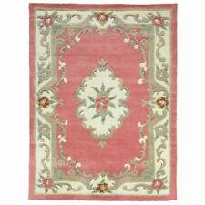 Wool Blend Floral English Regional Rugs