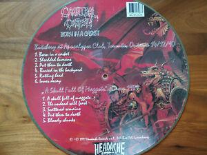 Cannibal Corpse Vinyl Born in a Casket Live + Demo limitiert