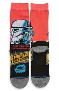 Stance Star Wars L Mens Empire Strikes Back Storm Trooper 40th Anniversary Socks