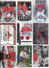 U PICK'EM LOT (150+) Carey Price RC Inserts Parallel SP Jersey AUTO #'d cards