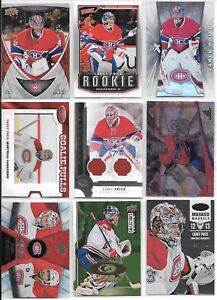 U PICK'EM LOT (200+) Carey Price RC Inserts Parallel SP Jersey AUTO #'d cards