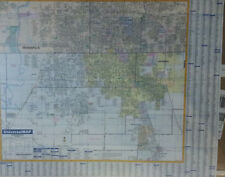 Greenwood In Laminated Wall Map (U)