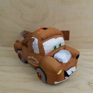 Disney Store Disney Cars Movie Large Tow Mater 20cm Tall Plush Soft Toy