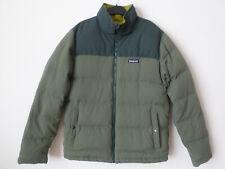 Mens Patagonia Khaki Green Bivy Down Jacket Size: S