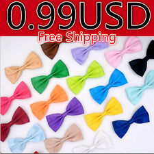 Adjustable Classic  Men Wedding Bowtie Novelty Tuxedo Necktie Bow 12.5*6.5cm Tie