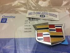 Cadillac CTS Sedan Rear Compartment DECK LID CREST EMBLEM new OEM 15263152