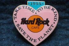 HRC Hard Rock Cafe Online Staff Pink Ambassador Heart Made by FC Parry