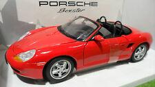 PORSCHE 911 BOXSTER 1996 cabriolet rouge 1/18 UT Models 180065830 voiture miniat