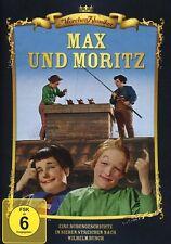 DVD * MAX UND MORITZ - Märchenklassiker - blau  # NEU OVP &