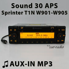 Mercedes Sound 30 APS AUX-IN Sprinter Navigationssystem T1N MP3 Radio Navigation