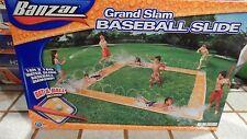 Banzai Grand Slam Baseball Diamond Water Slide Bat & Ball included