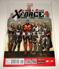 CABLE & X-FORCE # 1 Marvel Comic  Feb 2013  NM