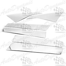 FOR 2014-2017 CHEVROLET IMPALA CHROME B-PILLAR 6PCS PILLAR POST STAINLESS STEEL
