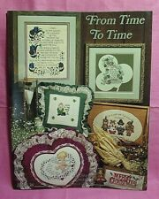 Stony Creek Collection Counted Cross Stitch Book #36 - From Time to Time