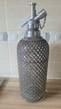 More details for vintage sparklets soda syphon bottle rare working condition