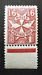 MALTA #J20 VERY FINE NH** POSTAGE DUE   CAN. SHIP $1.99 COMBINED SHIPPING