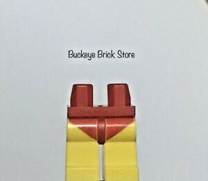 LEGO Yellow Legs with Red Swimsuit Pattern