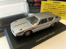 Kyosho 1/64 Lamborghini Collection2 Espada SilverTracking number free