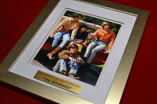 MONKEES Signed ALL 4 AUTOGRAPH Display, Frame, COA, UACC #228, Comic, LP Record