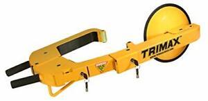 Trimax TWL400 Heavy Duty Adjustable Wheel Lock