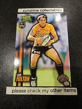 2010 NRL CHAMPIONS BASE CARD NO.191 LIAM FULTON WEST TIGERS