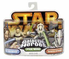 STAR WARS Galactic Heroes Obi-Wan Kenobie & General Grievous action figures