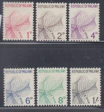 Malawi 1967 Postage Dues sc J1-J6  mint lightly hinged
