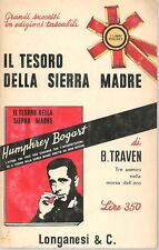 IL TESORO DELLA SIERRA MADRE - B. TRAVEN    LONGANESI