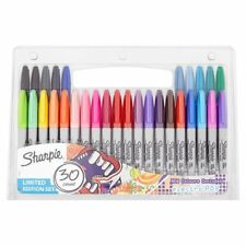 SHARPIE PERMANENT MARKERS, FINE POINT, LIMITED EDITION 30 PACK - NEW