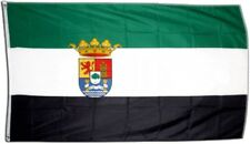 Fahne Spanien Extremadura Flagge extremadurische Hissflagge 90x150cm