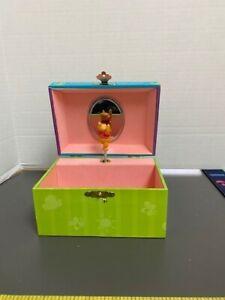 WINNIE THE POOH Wind up Jewelry Music Box Kreisler Tune - Winnie The Pooh Works