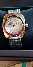 Vostok Neptune GMT  Watch, modded when new, PLUS original new case please read