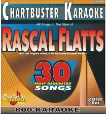 Chartbuster Karaoke 2 Disc Artist Series CD+G Set 8589 Rascal Flatts 30 Song cdg