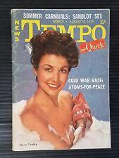 Tempo & Quick News Pocket Weekly August 15, 1955 - Mara Corday - Toni Kelly