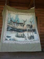 White Tail Cloth Shower Curtain Cabelas Grand River Lodge 70 X 72
