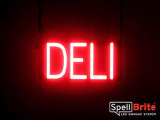 SpellBrite Ultra-Bright DELI Sign Neon look LED performance