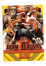 Cincinnati Bengals 2015 Panini Score, Team Leaders, (Gold) !! Andy Dalton !!