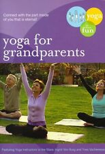 YOGA FOR GRANDPARENTS: FUN GENTLE PRACTICES (Y Vacheresse) - DVD - Region Free